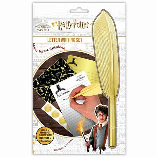 Harry Potter Letter Writing Set Feather Pen