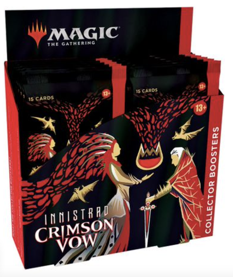Innistrad: Crimson Vow - Collector Booster box - English