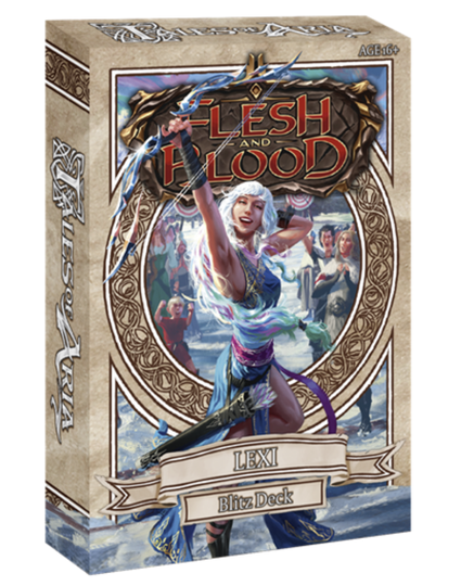 Flesh and Blood - Tales of Aria Blitz Deck - Lexi - English