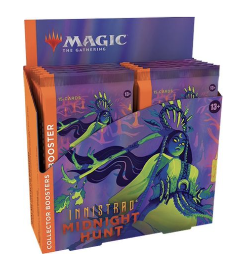 Innistrad Midnight Hunt - Collector's Booster box - English