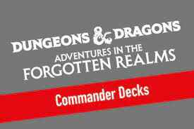 Adventures in the Forgotten Realms - Commander Set - English