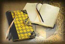 Harry Potter - Hufflepuff Diary - The Noble Collection