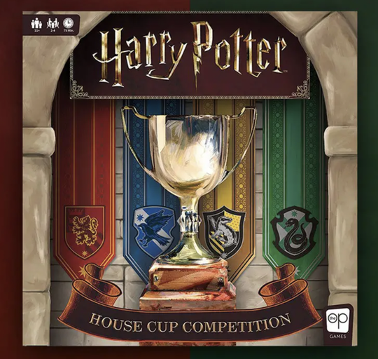 Harry Potter - Boardgame - House Cup Competition - English