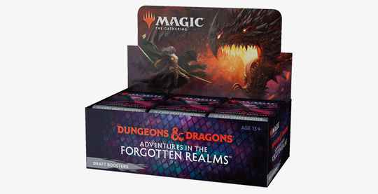 Adventures in the Forgotten Realms - Draft Boosterbox - English