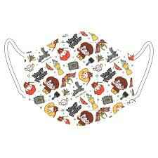 Harry Potter Characters Reusable Kids Face Mask