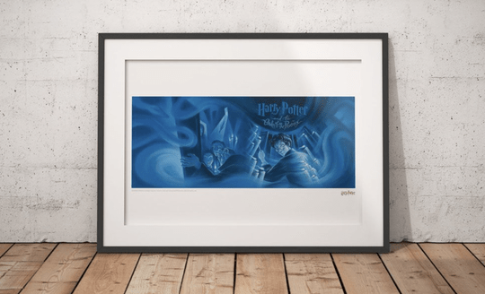 Harry Potter - Art Print Order of the Phoenix Book Cover - Limited Edition