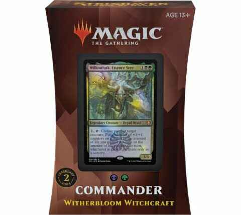 Strixhaven - Commander 2021 - Witherbloom Witchcraft - English