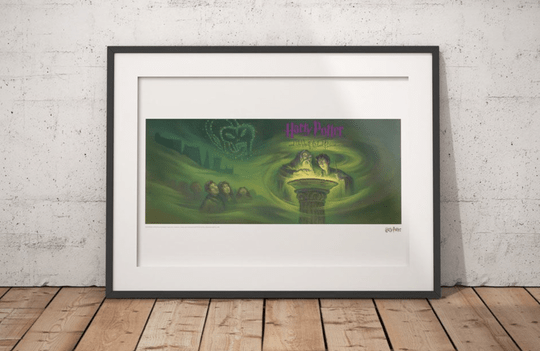 Harry Potter - Art Print Half Blood Prince Book Cover - Limited Edition
