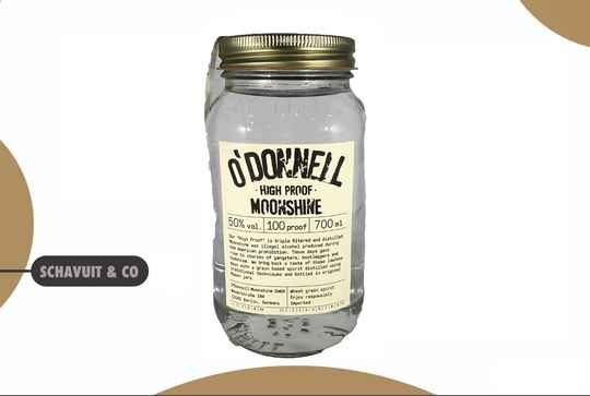 O'Donnell Mini Moonshine Jars