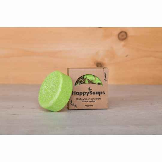 HappySoaps Shampoo Bar - Tea-Riffic - 70 gram