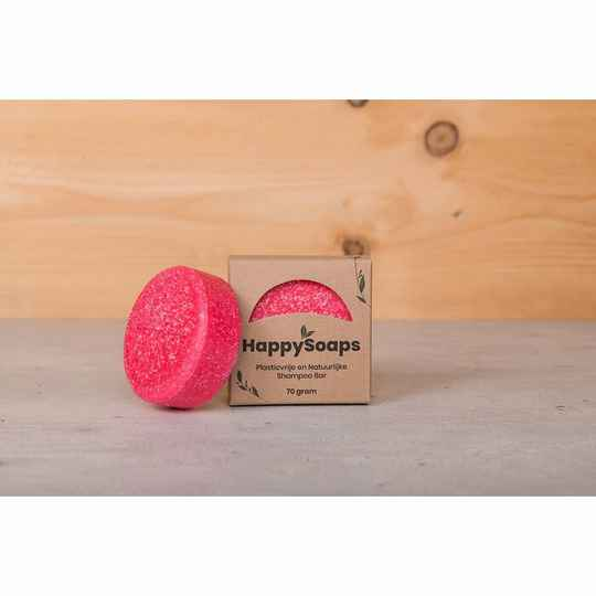 HappySoaps Shampoo Bar - Cinnamon Roll - 70 gram