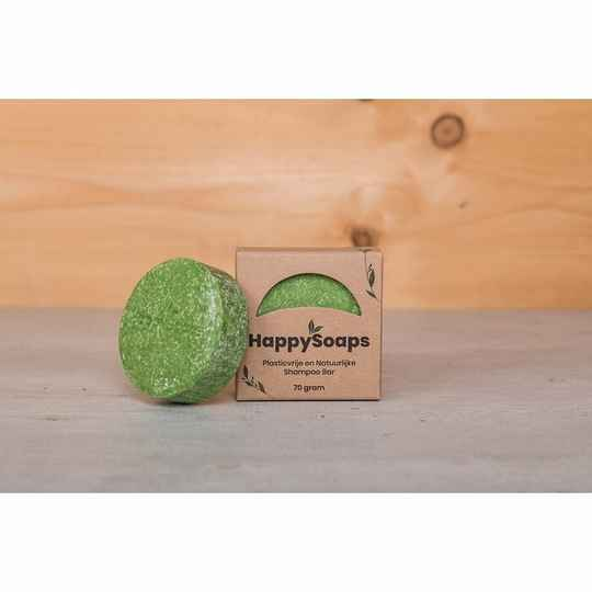 HappySoaps Shampoo Bar - Aloë You Vera Much - 70 gram