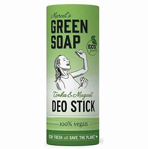 Deo Stick 40gr - Tonga & Muguet van Marcels Green Soap