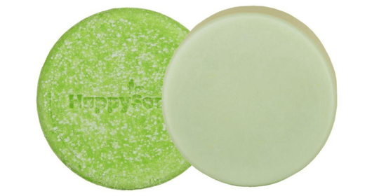 HappySoaps SET Shampoo & Conditioner Bar Green Tea (2 stuks)
