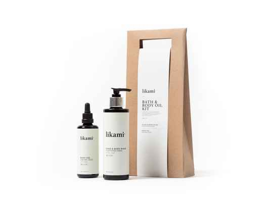 LÍKAMI - BATH & BODY OIL KIT