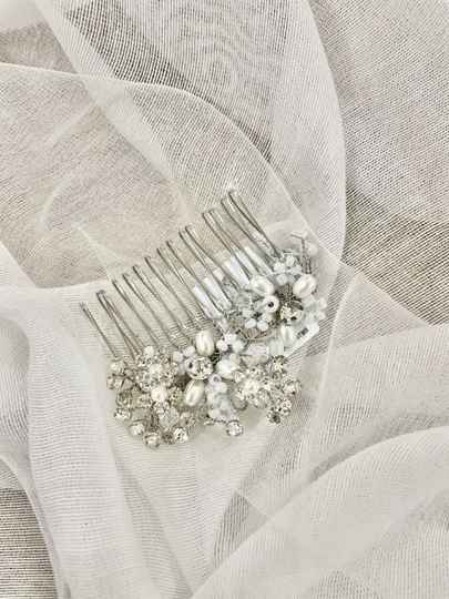 H-1-PCR hair jewellery silver