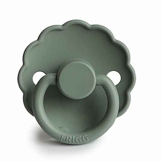 Daisy pacifier lily pad color 0-6 mnd