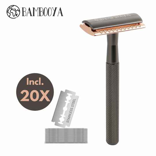 Safety razor - black & gold