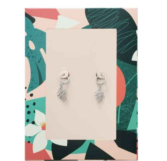 EARRINGS MAMA SILVER