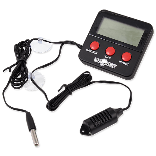 Repti Planet Thermometer / Hygrometer LCD outdoor