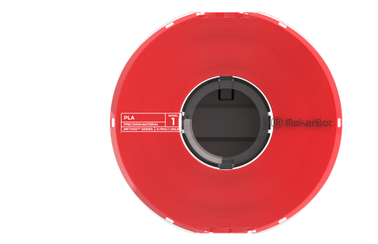 MAKERBOT METHOD PLA TRUE RED 750GR