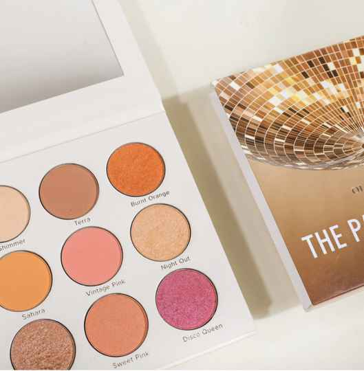 Eyeshadow palette (the party palette) - Olcay Gulsen