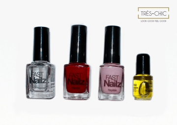 Nagelset 'Ruby and Rose'