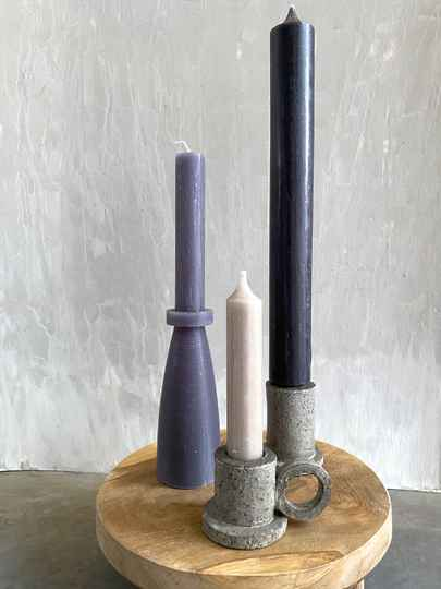 CANDLE SET RUSTIC WITH LOVE