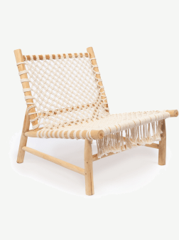 Fauteil - The Island Rope - Natural White