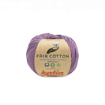 Fair cotton - 39 - Donker paars