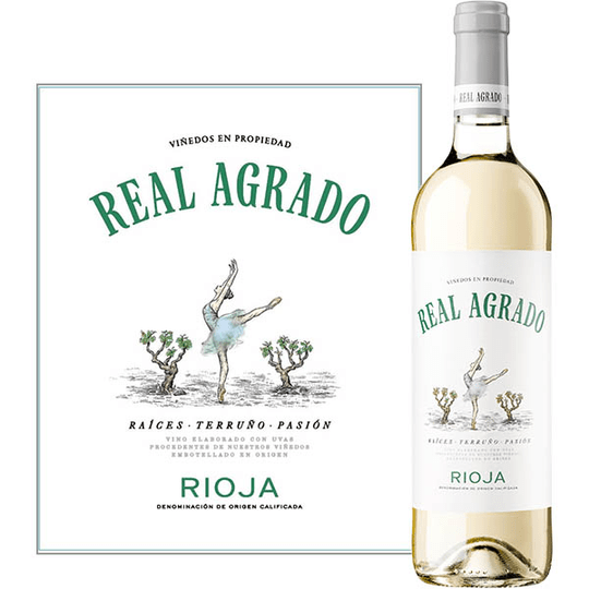 Rioja Blanco, Real Agrado 75 cl