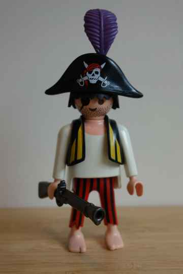 Playmobil piraat 1