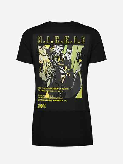 NIKKIE COLLECTION T SHIRT N 6-935 2102 BLACK