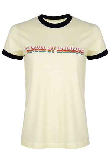 ICONIC27 TEE BLINDED BY RAINBOWS YELLOW