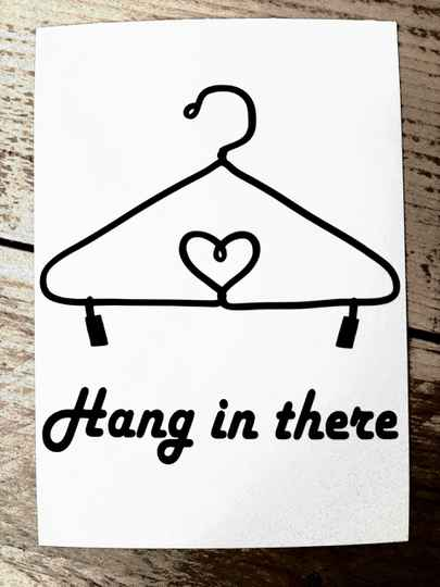 Kaart Hang in there