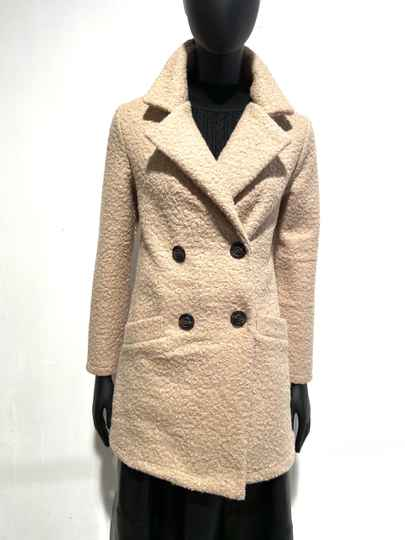 LOLA! BEIGE COAT TEDDY