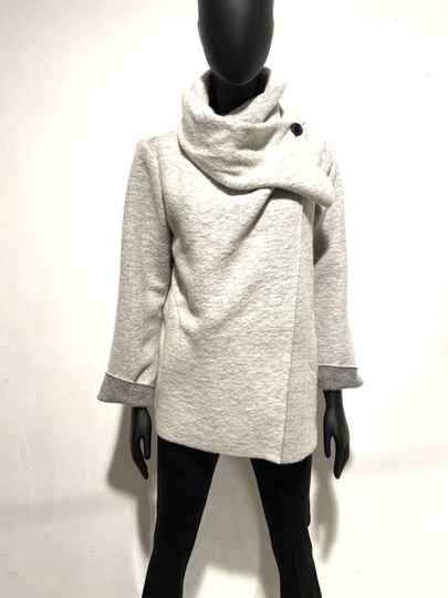 LOLA! GREY SIXTIES COAT