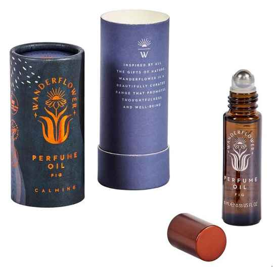Wanderflower  Parfum Roll-On vijgen