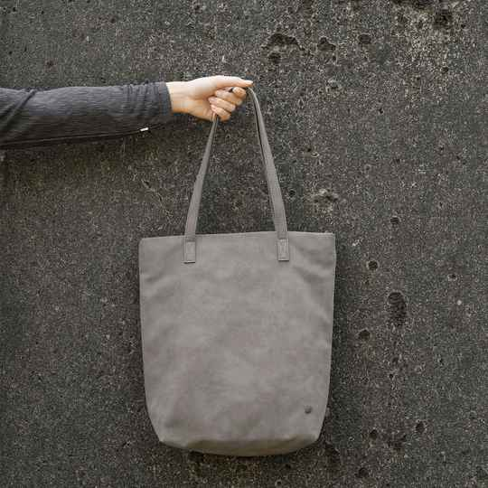 Zusss Basic shopper mat taupe