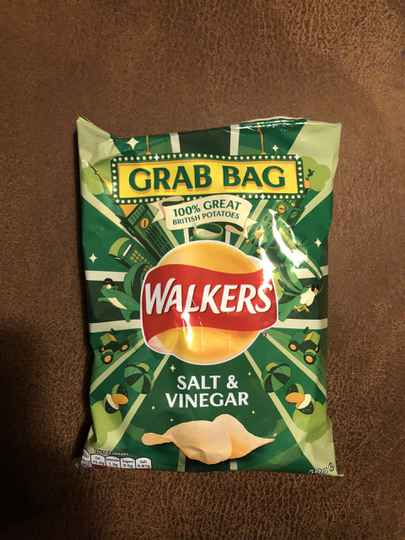 Walkers salt vinegar