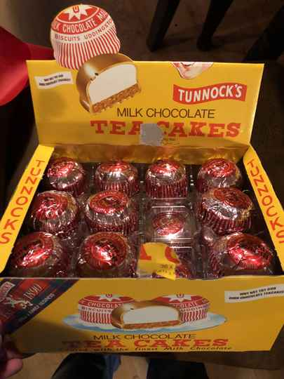Tunnock's milk chocolade tea cakes