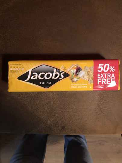 Jacob's cream cracker