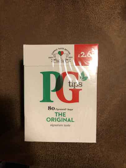 PG tips original 80st.