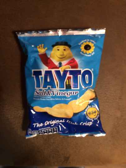 Tayto salt vinegar
