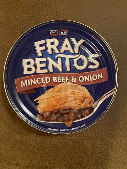 Fray Bentos minced beef & onion