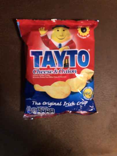 Tayto cheese onion