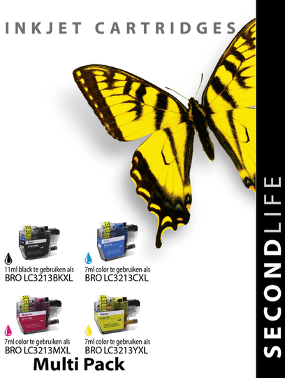 Cartridge SecondLife Brother LC3211 / 3213 multipack