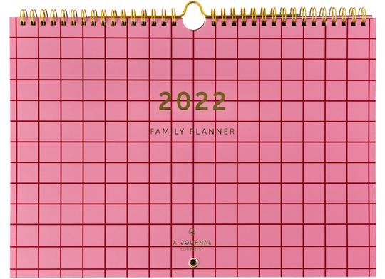 A-Journal familieplanner 2022
