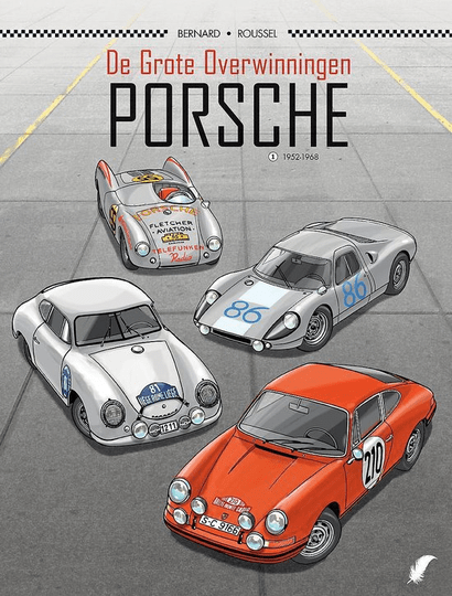 Collectie plankgas 12. Porsche 1