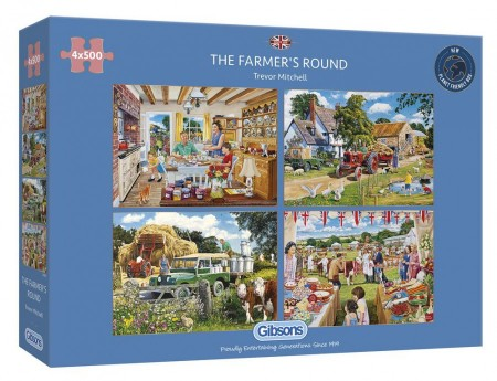 500 x 4 Gibsons - The Farmers Round